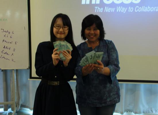 Cash Prize Won!